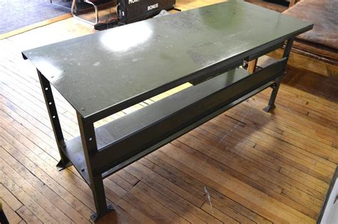 industrial work table  striking kitchen island