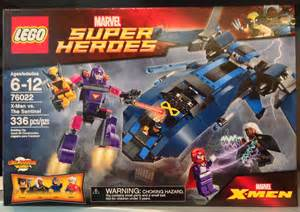 LEGO X-Men vs Sentinel