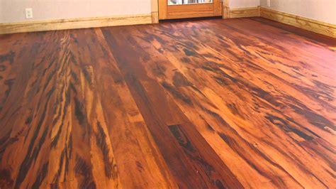 Tiger Wood Hardwood Flooring Youtube
