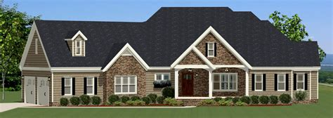 Traditional House Plan With Split Bedrooms 46249la