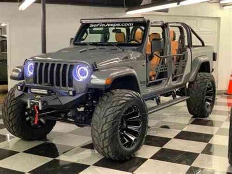 jeep gladiator custom lifted jeep gladiator   classic cars