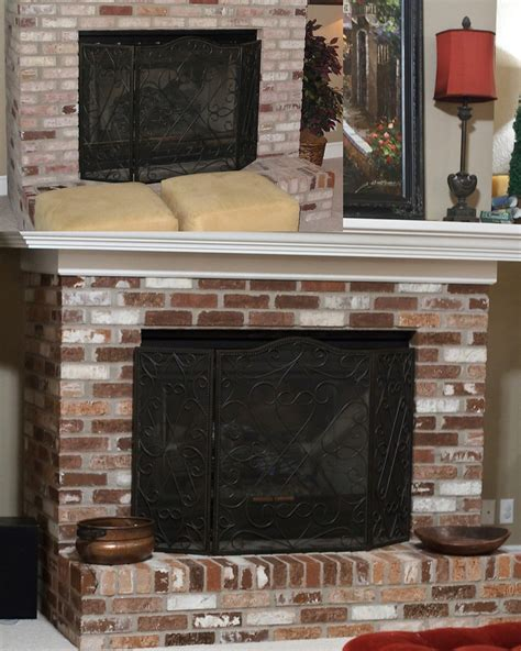 sponge painting brick fireplace 17 best images about brick fireplace on