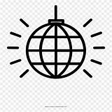 Noun Disco Coloring Clipart Ball Pikpng Complaint Copyright sketch template