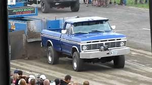 Badass 1974 Ford F250 390 Truck Pull