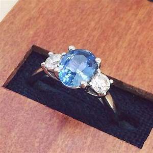 three stone engagement rings represent the past present With wedding ring represents