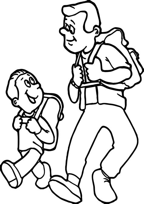 father  daughter coloring pages happy fathers