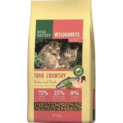 real nature wilderness true country kitten huhn und fisch