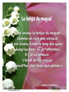 fleur voiture mariage 1er mai poème le temps du muguet aloe fleurs