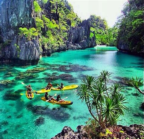 El Nido Lagoon Tours Island Hopping In The Philippines