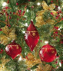 1000 images about Red and Gold Christmas Ornaments on