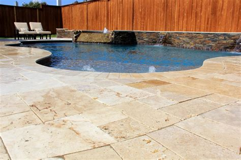 Pavers For Pool Decks by Enchanting 25 Travertine Pool Deck Inspiration Design Of