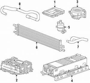 Chevrolet Malibu Ls Drive Motor Inverter Cooler Water Pump