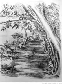 Imagenes De Dibujos Paisajes En Lapiz