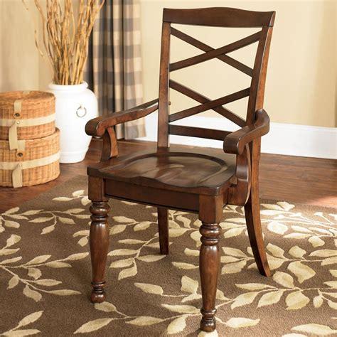 Ashley Furniture Porter House D69701a Double X Back Arm