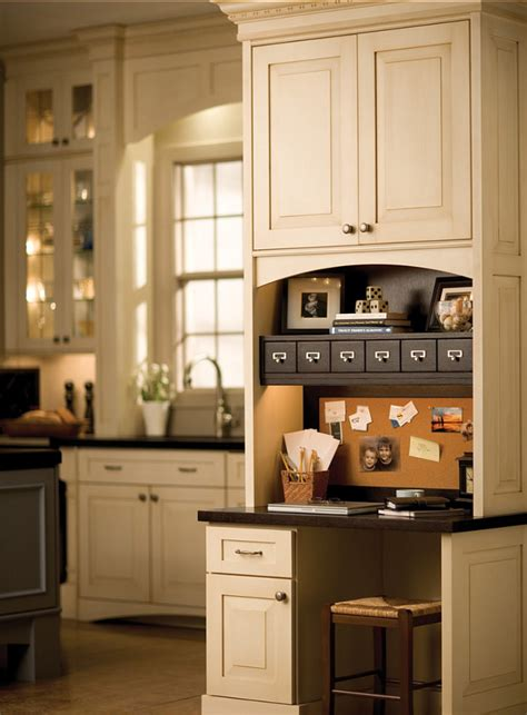 kitchen cabinets desk workspace kitchen design ideas home bunch interior design ideas 6015