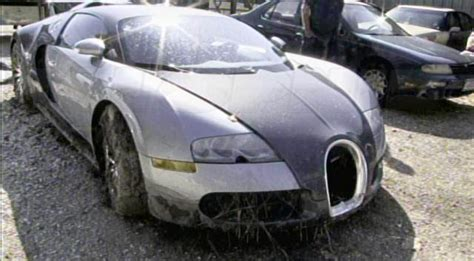 bugatti crash for sale bugatti veyron lake crash the aftermath in pictures