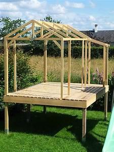 Plan De Cabane En Bois : cabane enfants avec des palettes en bois ~ Melissatoandfro.com Idées de Décoration