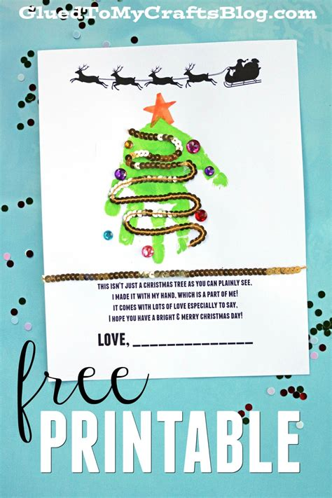 christmas tree handprint poem handprint poems free printable glued to my crafts