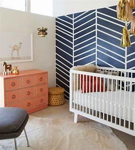 deco mur chambre bebe 50 idees charmantes With chambre bébé design avec fleuriste livreur