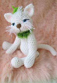 Cute Kitty Cat Crochet Pattern