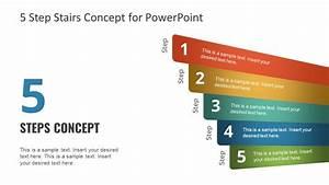 5 Step Powerpoint Diagram Concept