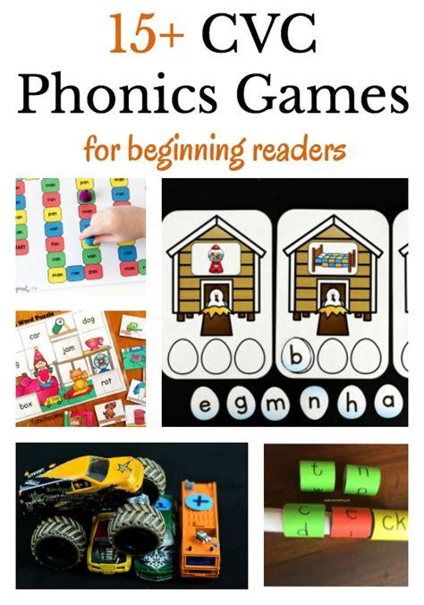 cvc phonics activities for beginning readers 379 | cvc phonics games