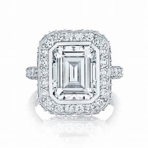 tacori engagement rings royalt halo setting 177ctw With wedding ring halo settings