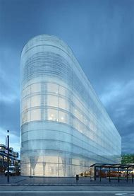 Architecture Glass Facade