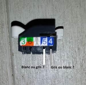Branchement Prise Rj45 Legrand : c blage prise france telecom dti en rj45 fai r seaux ~ Dailycaller-alerts.com Idées de Décoration