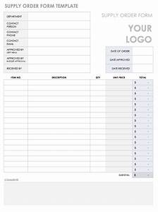 Free Order Form Templates