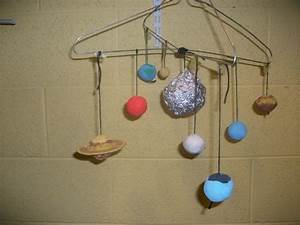 Hanging Solar System Model Project - Pics about space