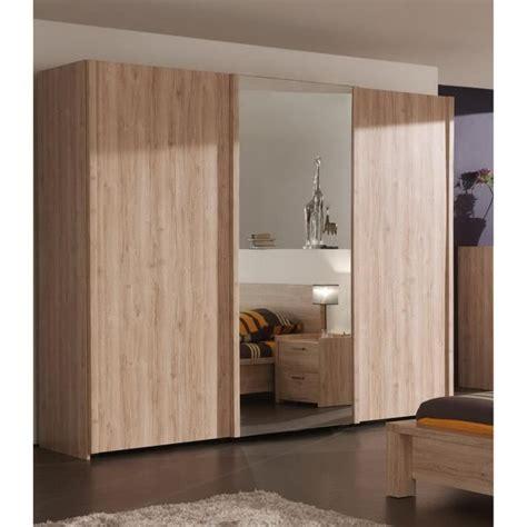 armoire chambre 2 portes porte chambre coulissante maison design homedian com