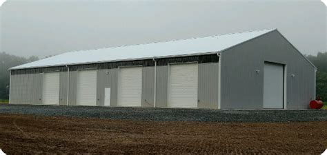commercial equipment storage buildings  york pole barns