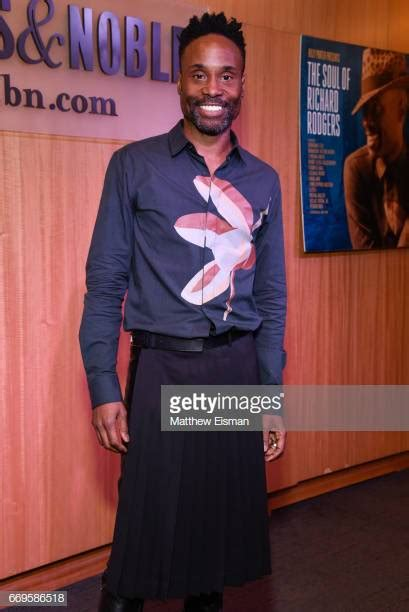 Billy Porter India Arie Signing Performance Stock