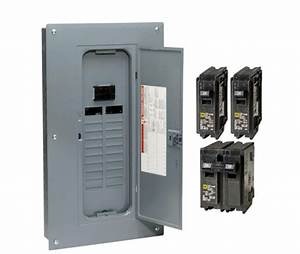 Circuit Breaker Box Panel Electrical 100 Amp 20 Space