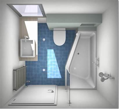 Kleine Bad Badkamer Douche Voor Inrichten Een