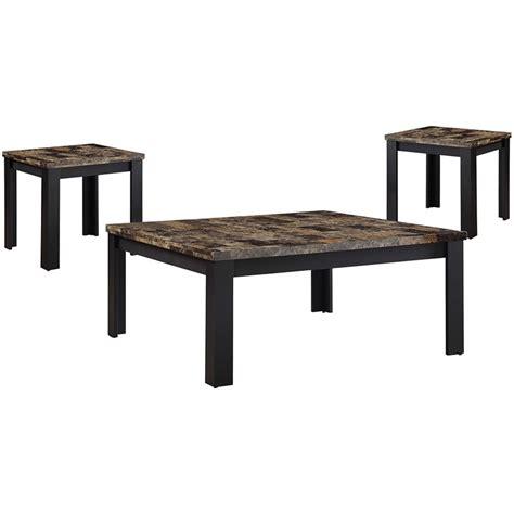 30 marble coffee table top semi precious stones inlay art handmade home decor. ACME Finely 3 Piece Faux Marble Top Coffee Table Set in Dark Brown - 84567
