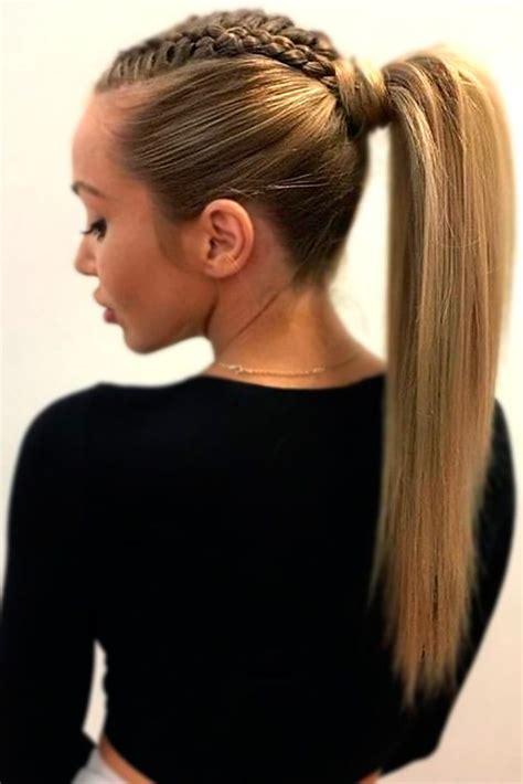 cute ponytail hairstyles ideas  pinterest