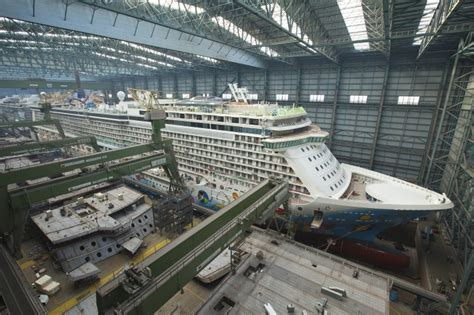 Germany Norwegian BREAKAWAY To Leave Meyer Werftu2019s Building Dock II | World Maritime News