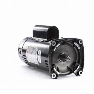 1 5 Hp 3450 Rpm 48y Frame Square Flange 230v Pool Motor