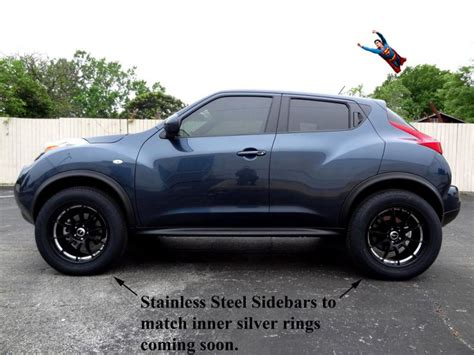 nissan juke grey 2012 juke sv awd the journey to a 3 quot suspension lift