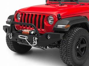 Redrock 4x4 Jeep Wrangler Full Width Winch Front Bumper