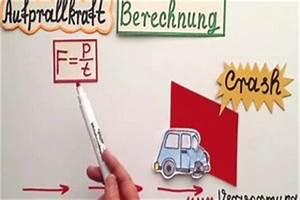 Bremsweg Berechnen Physik : video aufprallkraft berechnen so gehen sie vor ~ Themetempest.com Abrechnung