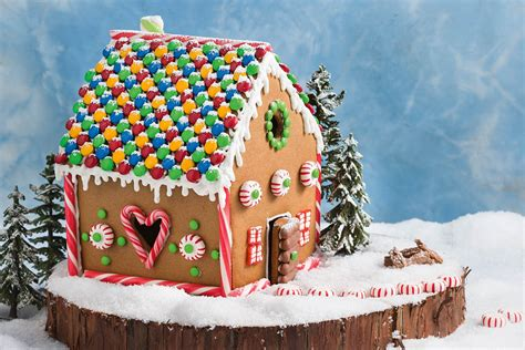 Mansion Gingerbread House Pattern