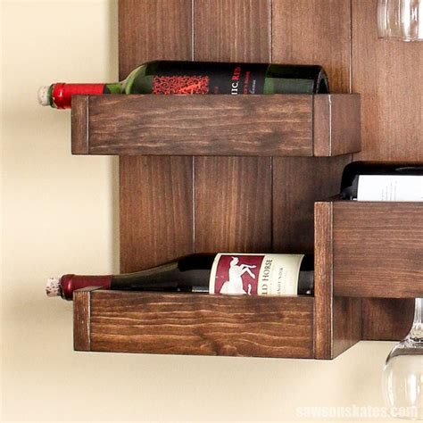 Bar bottle display bar decor restaurant design wine display wine store wine bar restaurant decor tiny shop. DIY Wine Bar Serves Up Stylish Storage for Bottles and Glasses