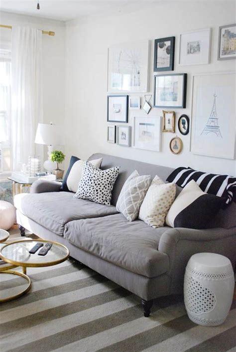 decoração sala sofá cinza escuro sala sof 225 cinza