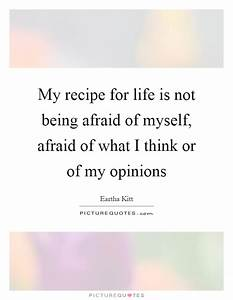 My recipe for l... Recipe Life Quotes