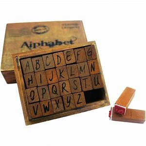 bo bunny kraft wood alphabet stamps upper case jo ann With how to stamp letters on wood