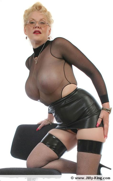 Leather And Nylons Milf Secretary Babe Jilly King Pichunter