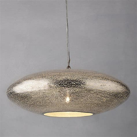 buy zenza filisky oval pendant ceiling light lewis